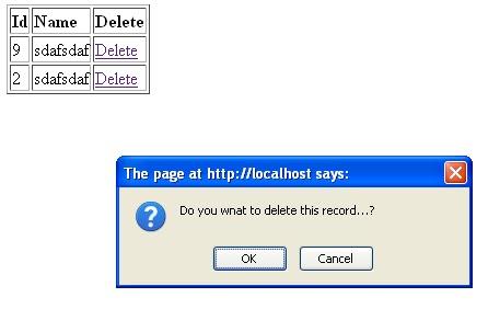 Function Confirm Delete JavaScript การยืนยันก่อนลบข้อมูล